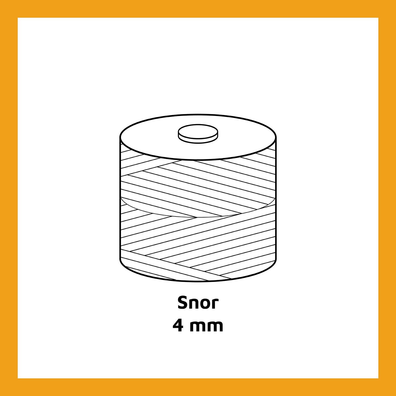 Snor - 4 mm