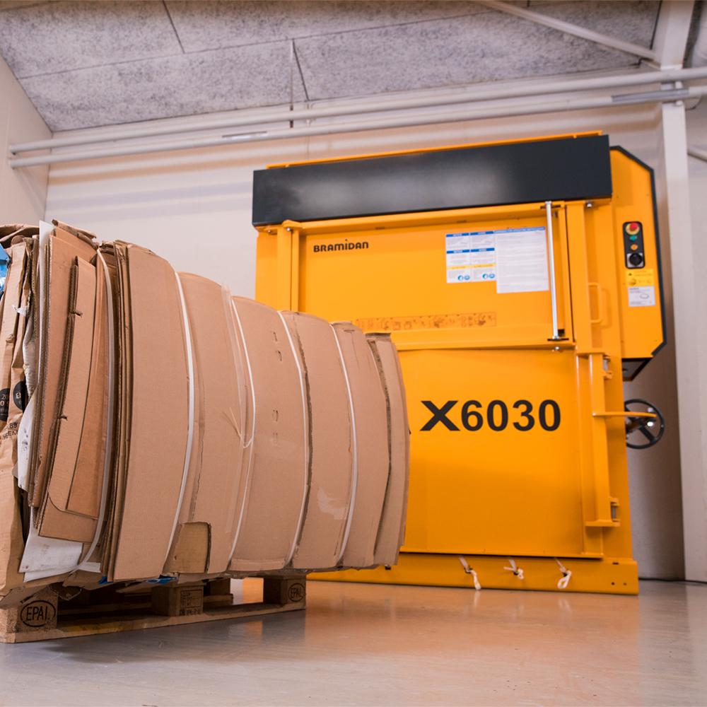 X6030 LP ballepresser