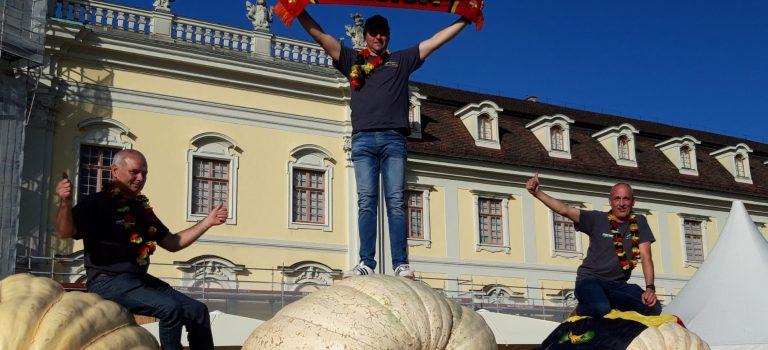 European Pumpkin weigh-off Ludwigsburg