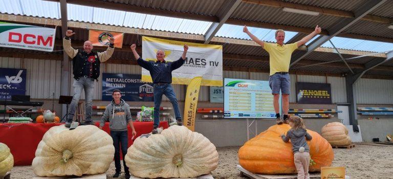 GPC Belgian Pumpkin weigh-off 2021