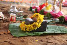 SankhuSthapana   Shubh Muhurat For Bhumi Puja