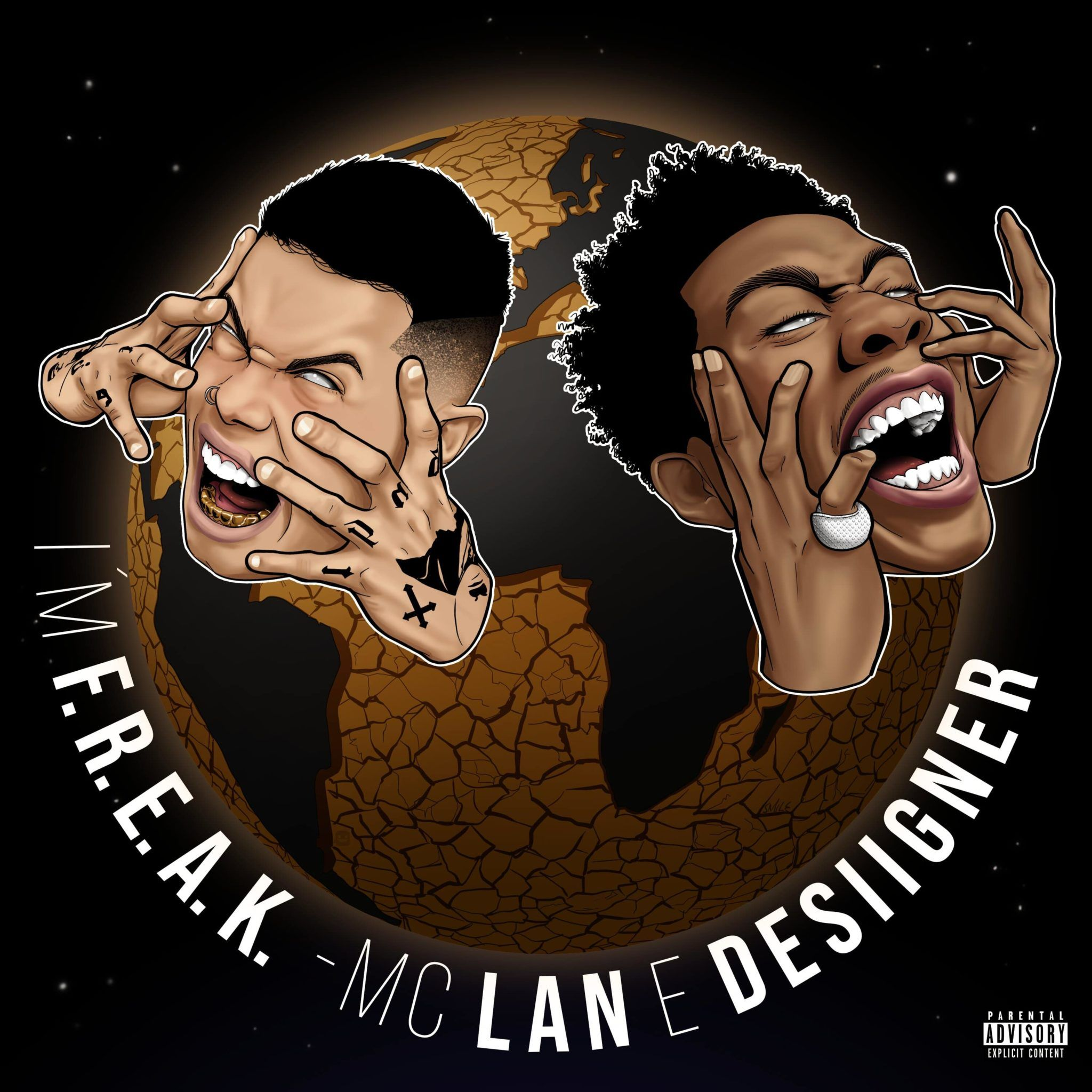 im f.R.E.A.K é o novo hit de mc lan com participação do rapper desiigner scaled