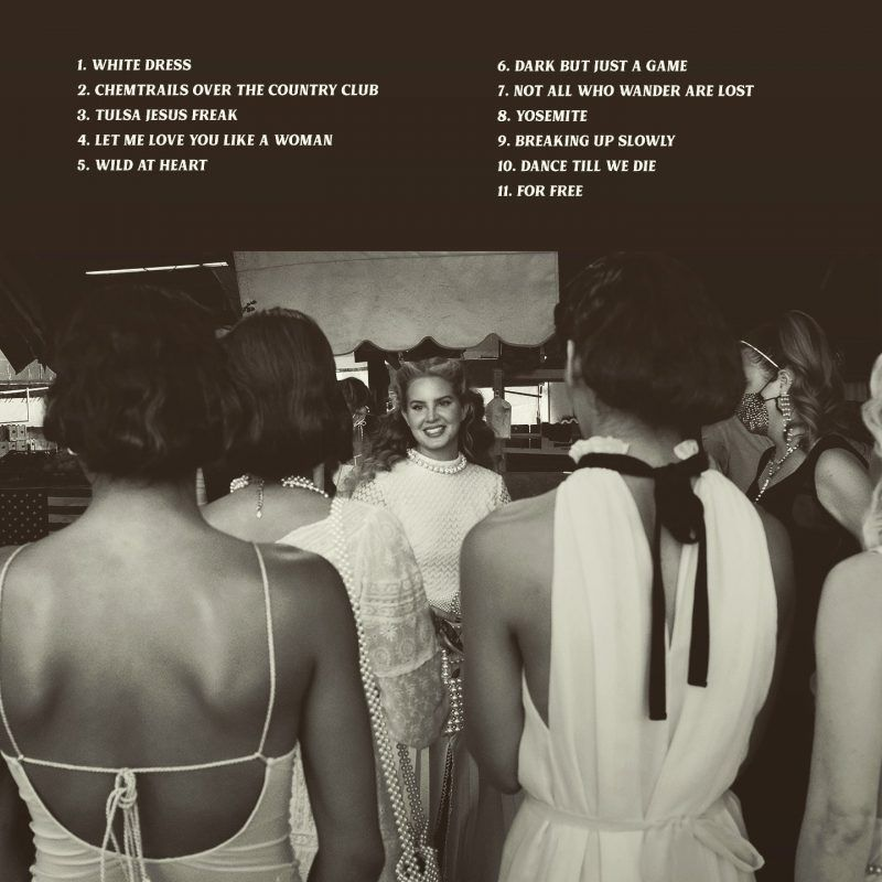 Chemtrails Over the Country Club tracklist