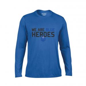 T-shirt långärmad (blå)