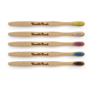 Miljövänliga tandborstar med Centrallogo, 5-pack