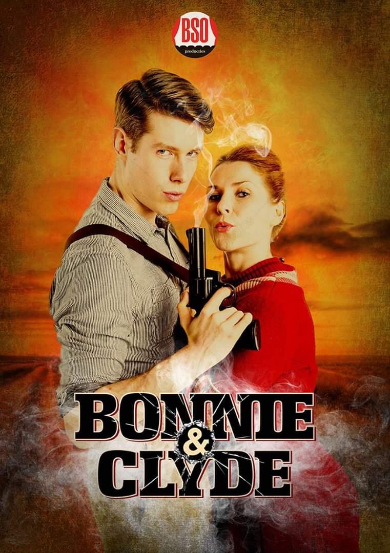 Bonnie & Clyde - BSO Producties - Kostuumontwerp - Decorontwerp - Affiche
