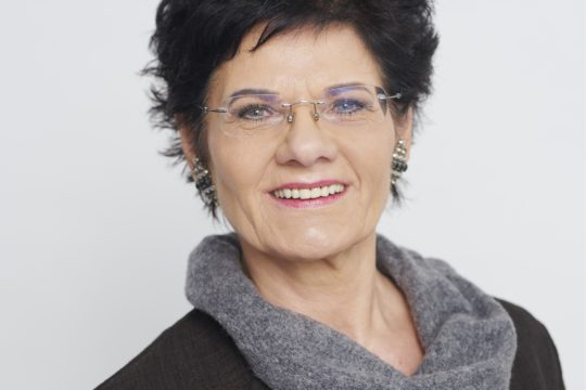 Dozentin Kornelia Brügger