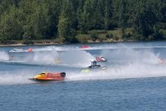 Right hand turn on F1 race course - Photo paulkemielphotographics.com