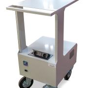 Werkplek trolley, workstation, werkstation, mobiele arbeitsplaats, powertrolley, magazijntrolley, warehouse