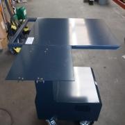 mobiele werkplek trolley, mobiele werkplek trolley voor in het magazijn / warehouse mobiel werkstation, werkplek logistieke hardware flexibel, Mobiele werkplek voor onafhankelijk werken