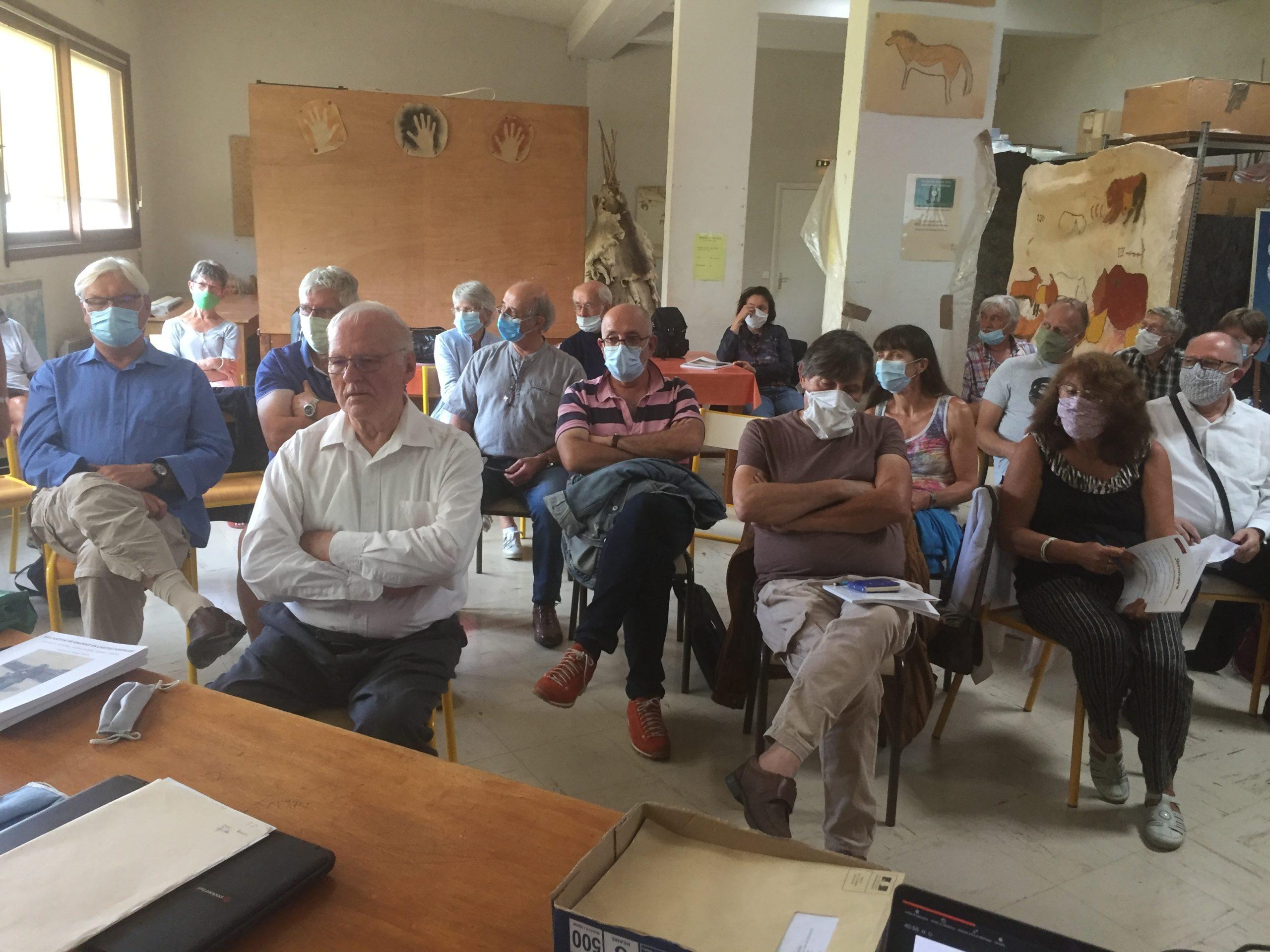 Read more about the article L'assemblée générale de l'association s'est tenue samedi 19 septembre au Centre de Préhistoire du Pech Merle, à Cabrerets, Lot.