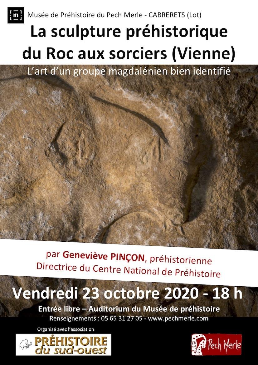 Read more about the article La sculpture pariétale dans l'abri sous-roche du Roc-aux-Sorciers à Angles-sur-l'Anglin : l'expression d'un groupe magdalénien bien identifié