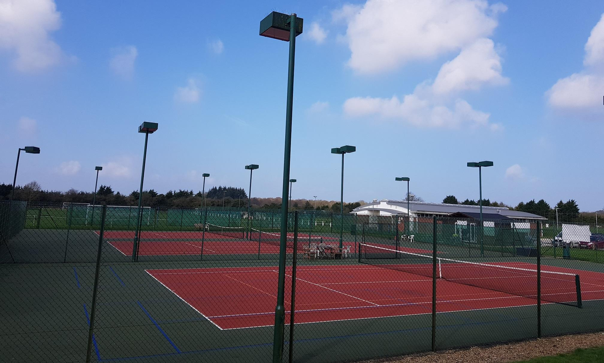 tennis club grounds