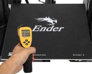 Ender-3 effektiv opvarmet printseng