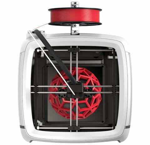 Robo R2 set ovenfra