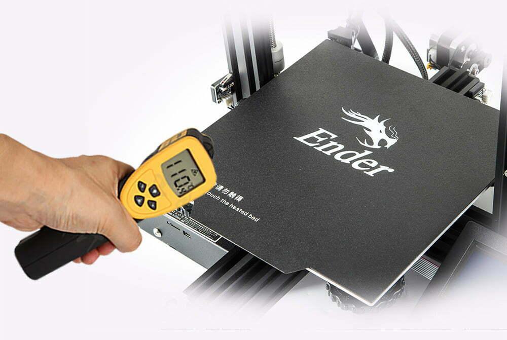 Ender-3 PRO effektiv opvarmet printseng
