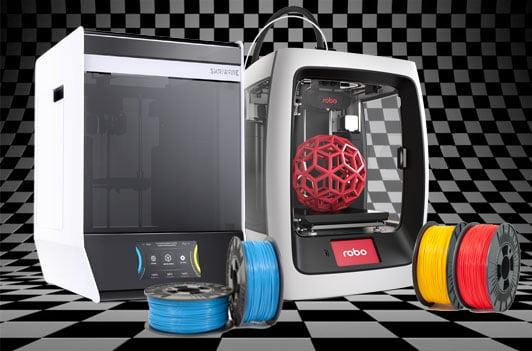 Makerspace_3D-printere