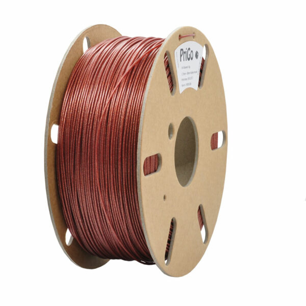 PriGo PLA filament Glitter Kobber