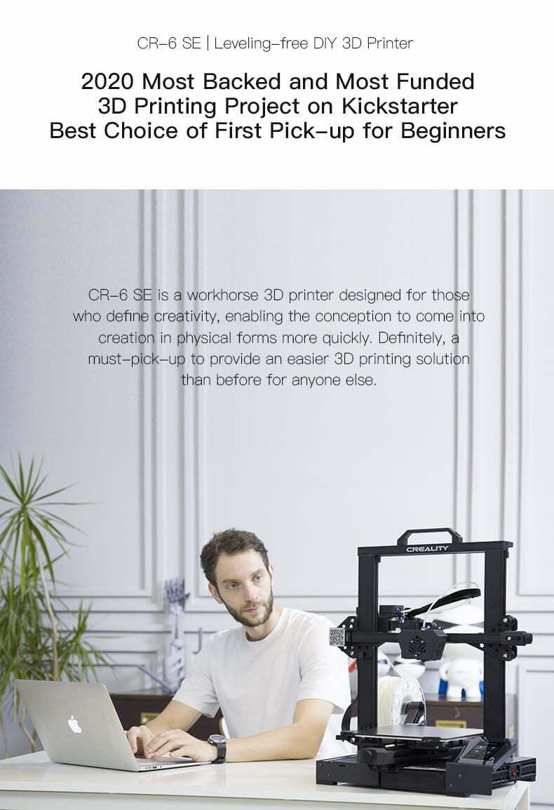 3D printer fra kickstarter projekt