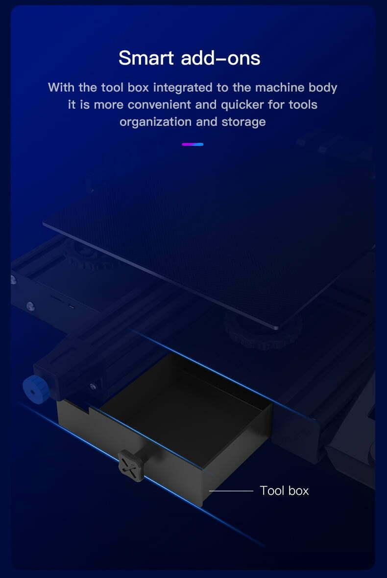 Ender-3 V2 værktøjskasse