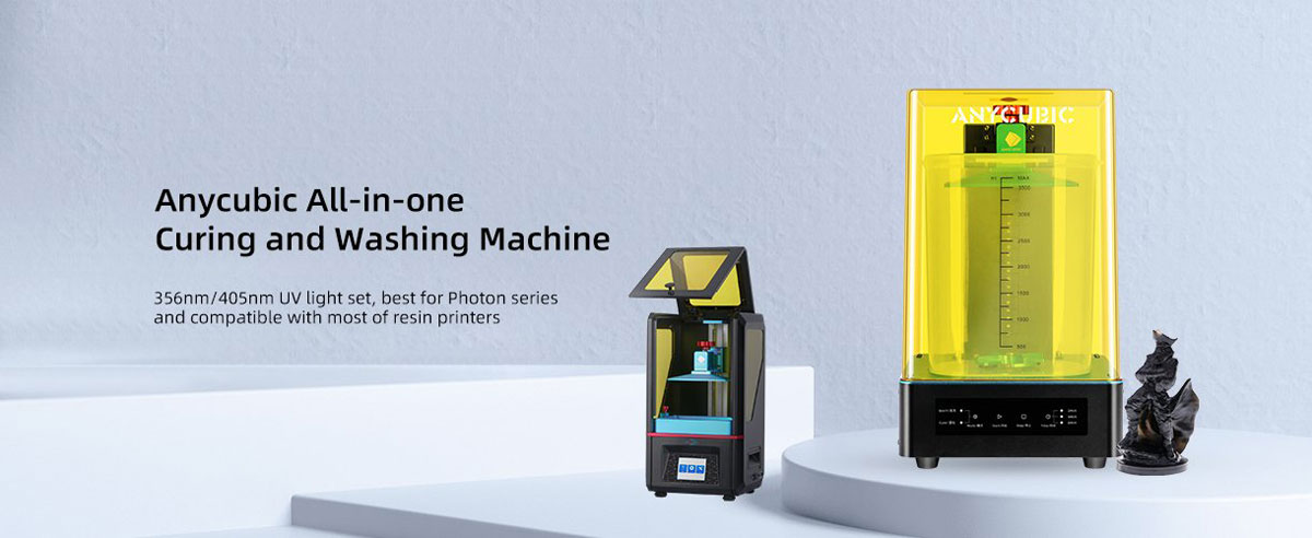 Anycubic wash & cure machine banner