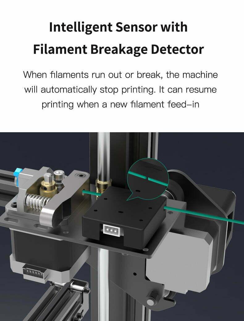 Creality Ender-3 MAX filament sensor