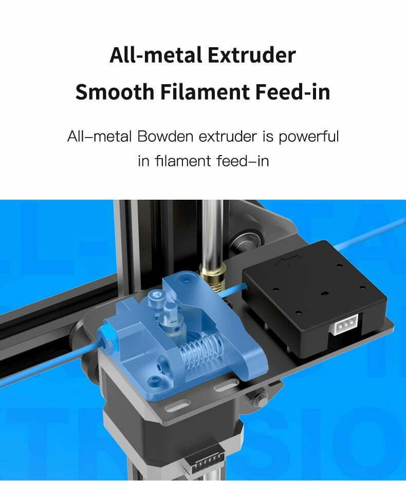 Creality Ender-3 MAX metal extruder