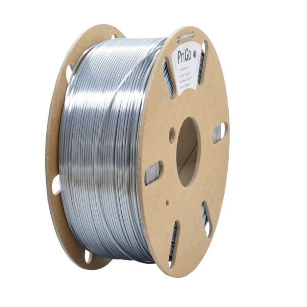 PriGo PLA filament - Sølv Satin