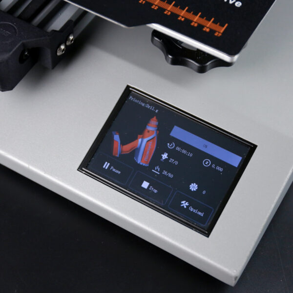 Wanhao D12/230 DUAL Extruder display