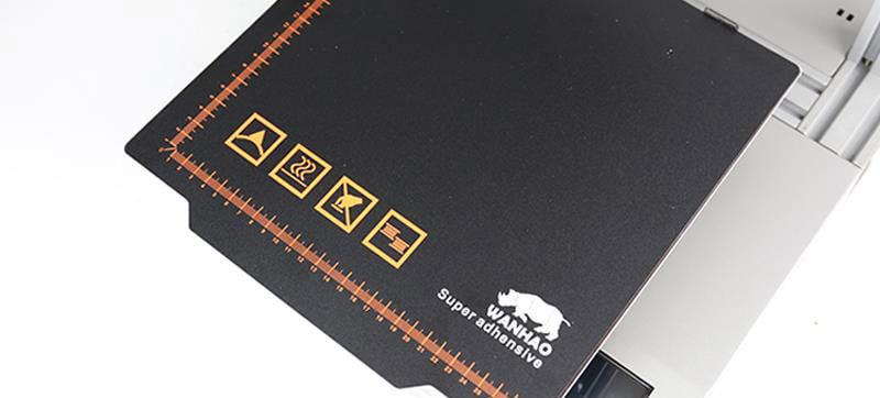 Wanhao D12/230 aftagelig magnet bed