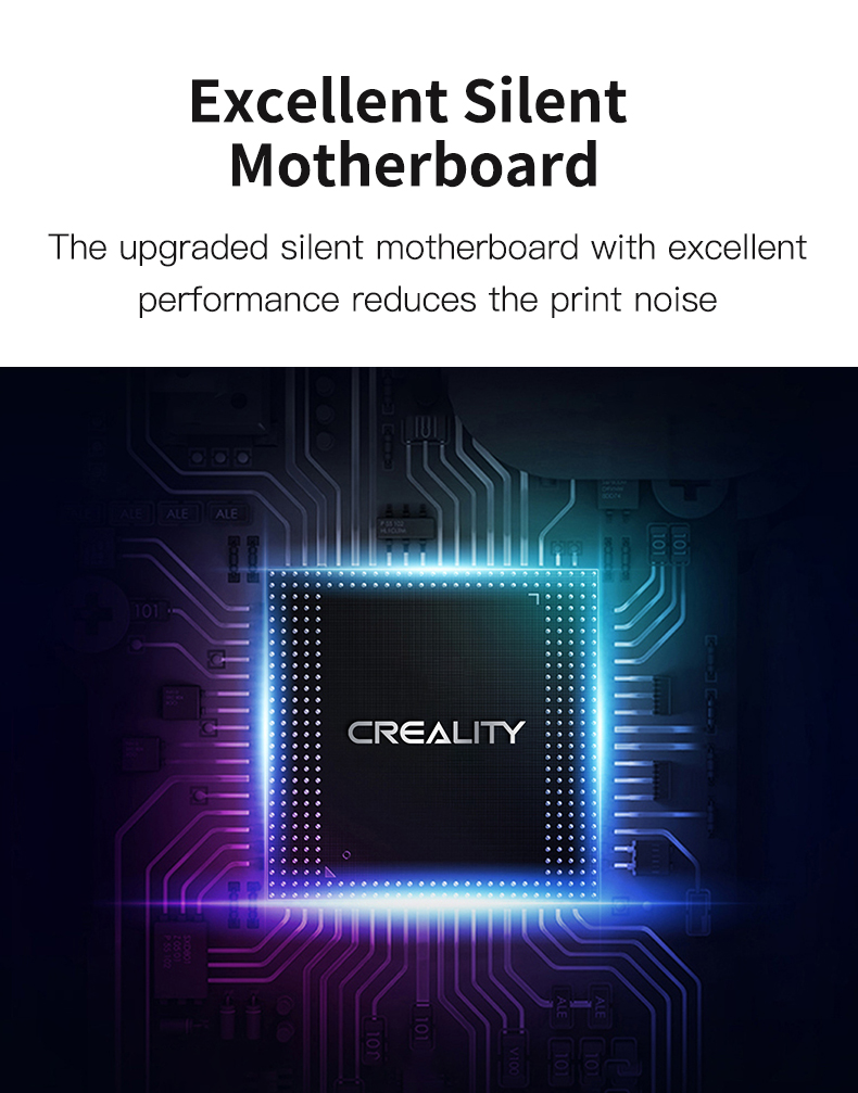 Creality CR-6 Max motherboard med silent drivers