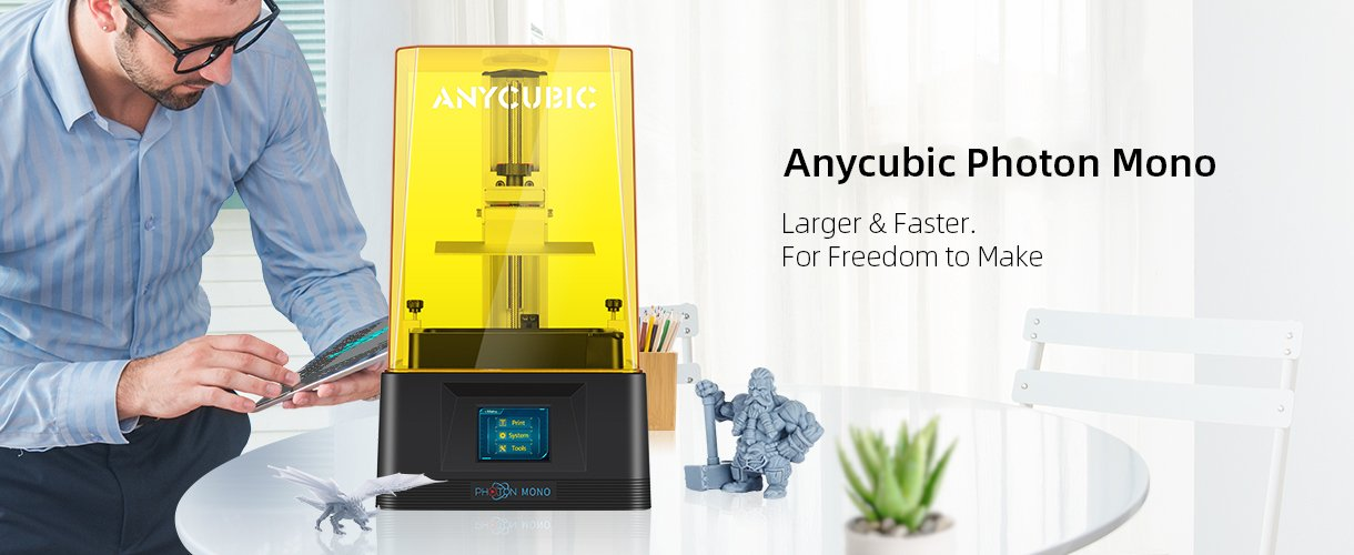 Anycubic Photon Mono banner