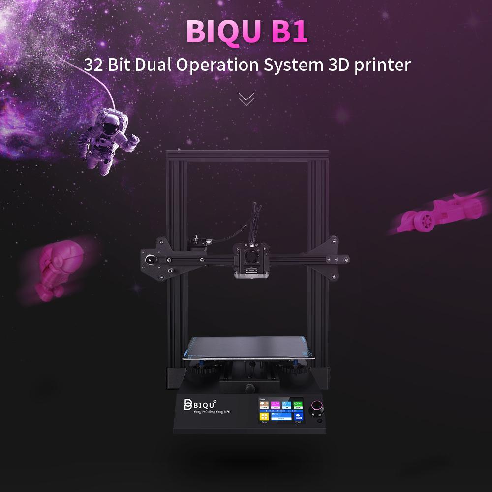 BIQU B1 3D printer presentation