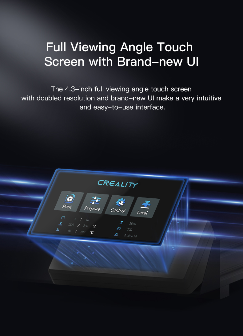 Creality CR-10 Smart Touch screen