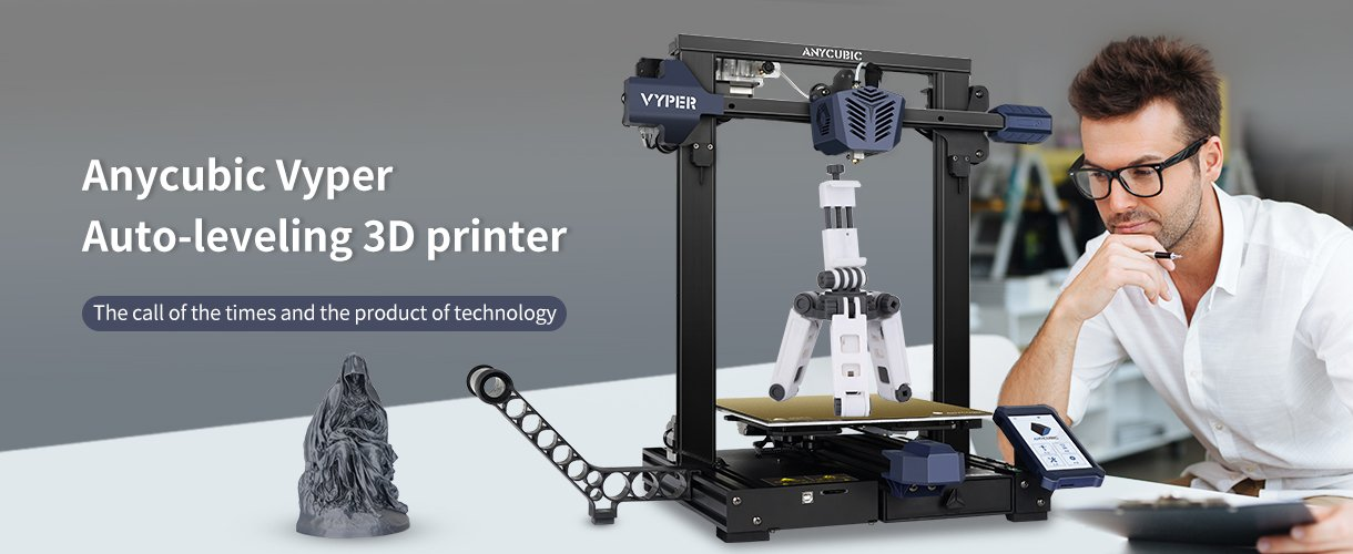 Anycubic Vyper 3D printer features