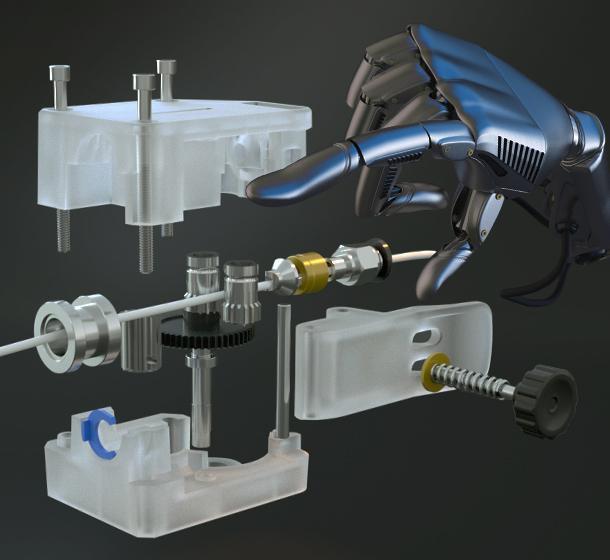 Anycubic Vyper dobbelt Gear extruder
