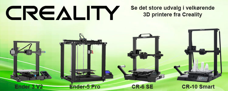 Creality 3D printere