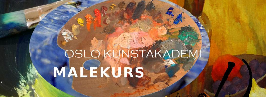Kurs i maleri ved Oslo Kunstakademi