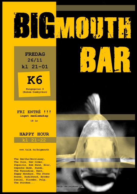 BigMouth Bar Plakat 01 Sonja Bunes