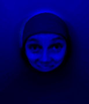 Sonja Bunes 2001 Alternative Selves, deep blue