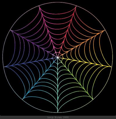 SonjaBunes digital illustrasjon fra 2000 Det fargerike feltet mellom svart og hvitt 4