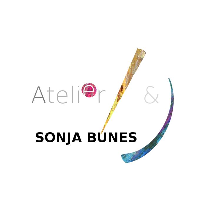 Sonja Bunes.  Atelier Prikk, Strek og Bue. Seriøs lek med tegning og farger.