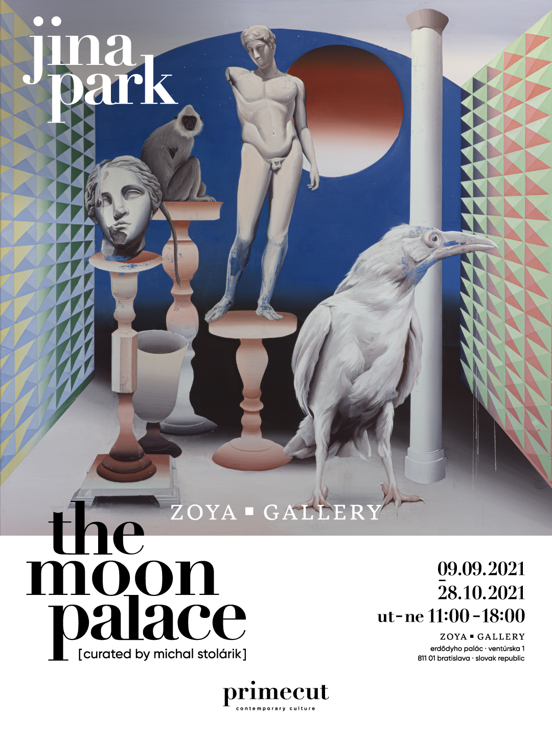 Flyer - the moon palace