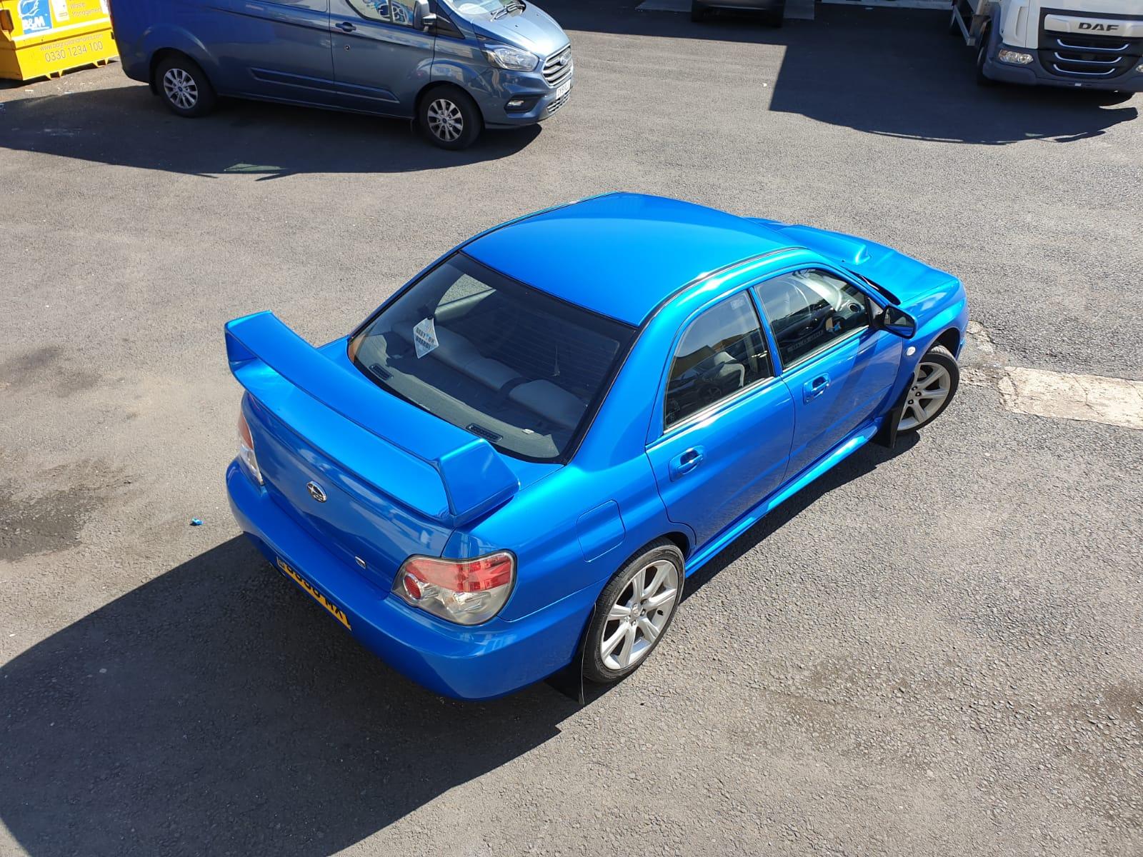Subaru Car Wrap