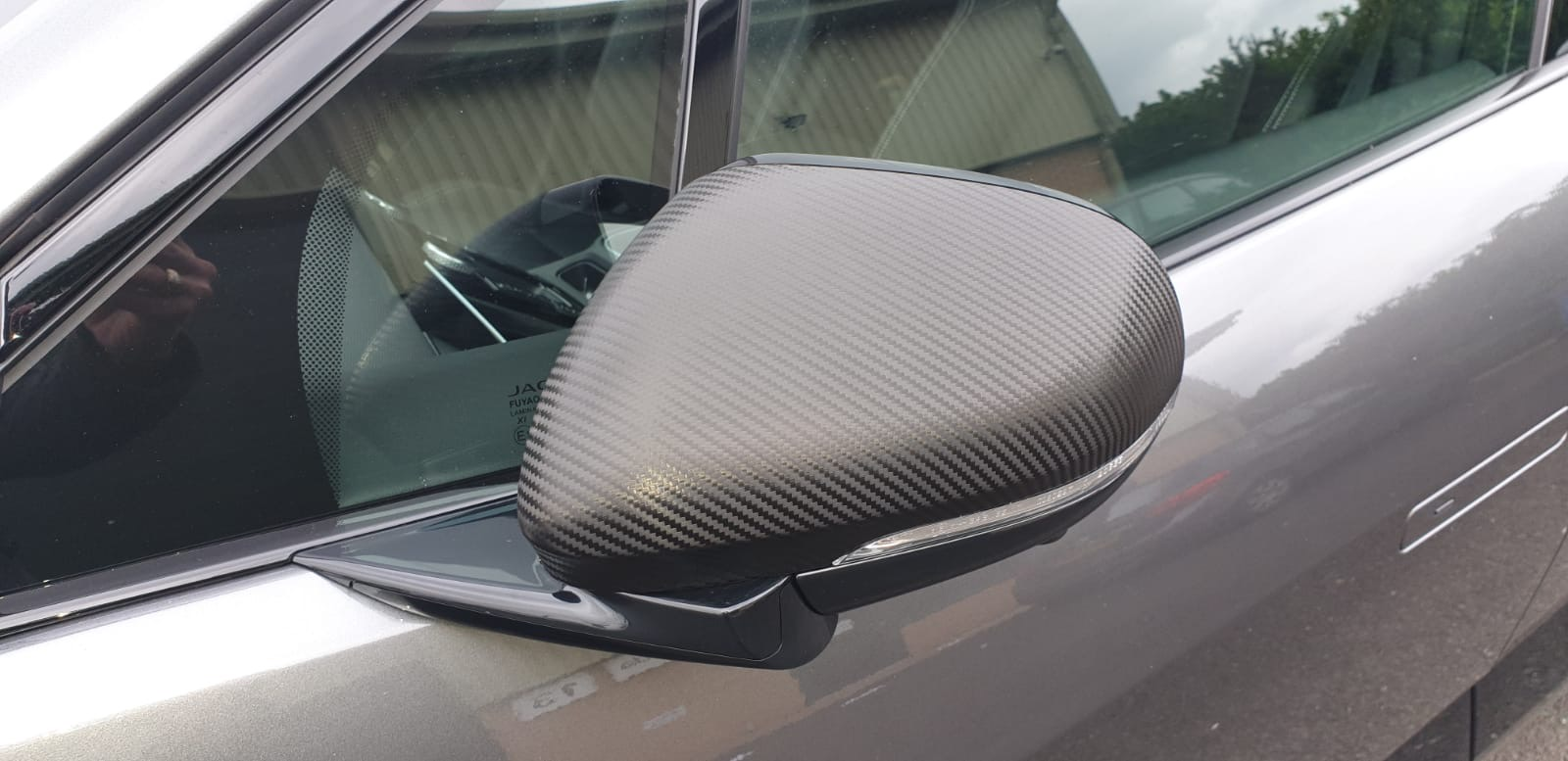 Carbon fibre wing mirrors