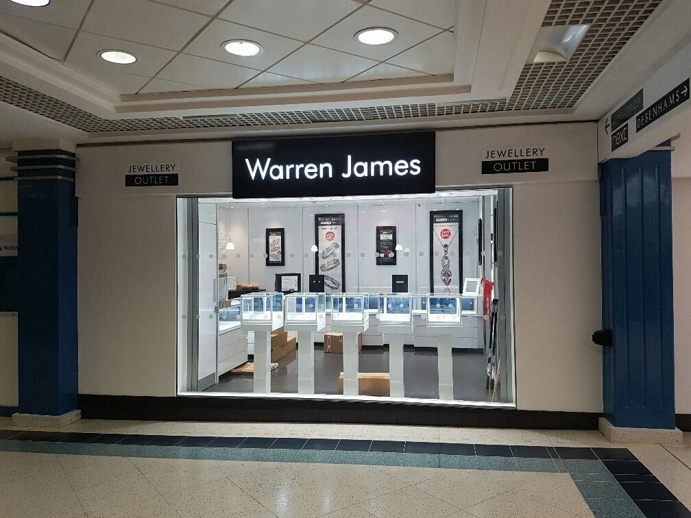 Warren James Signage | Principle Signs & Graphics