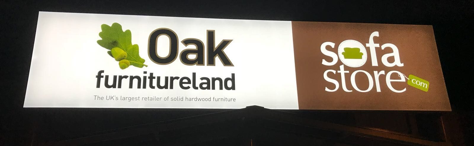 large outdoor signage for retail