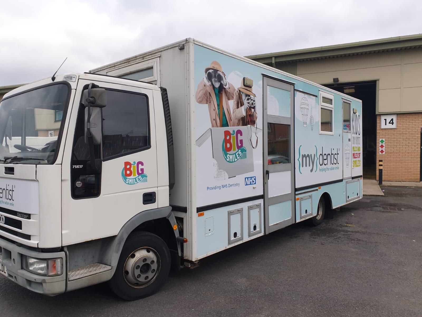 My Dentist - Vehicle Wrapping | Principle Signs & Graphics
