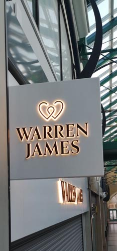 warren james signage. Graphics Signage