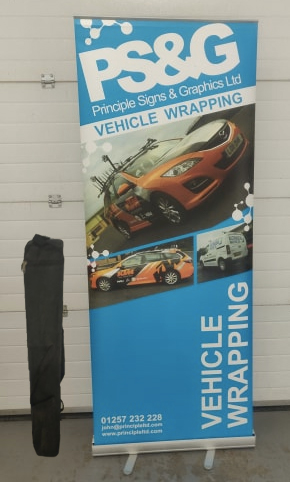 pull up banner roller banner
